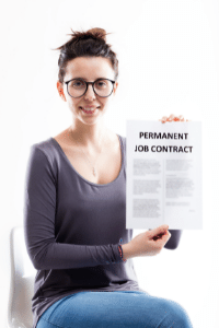 Full time job contract